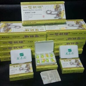KLG HERBAL PILLS –  6 PACKS + 1 FREE