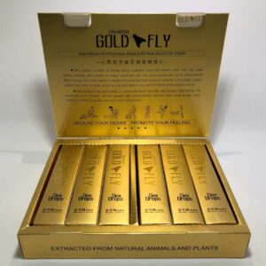 SPANISH GOLD FLY – SEX DROP FOR WOMEN – 6 PIECES