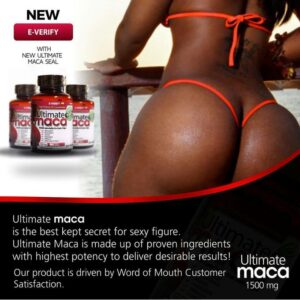 Ultimate Maca – For Bigger Hips And Buttocks
